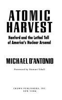 Pdf Atomic Harvest