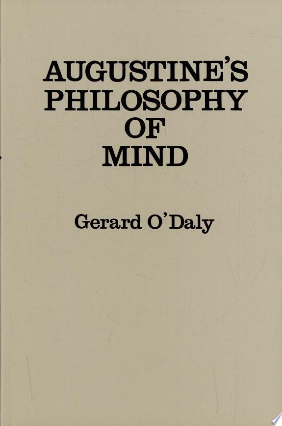 Augustine's Philosophy of Mind