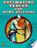 Estimating Tables For Home Building