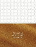 Octagonal Graph 1 3 Paper Notebook