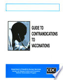 Guide to Contraindications to Vaccinations Book