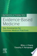 Introduction to Evidence Based Medicine  E Book