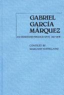 Gabriel Garc A M Rquez 1947 1979