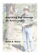 Anything But Average  an Autobiography