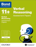 Bond 11+: Verbal Reasoning: Assesment Papers