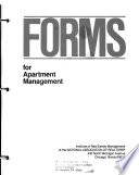 Forms for apartment management