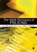 The SAGE Dictionary of Policing