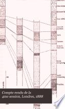 Compte rendu de la 4me session, Londres, 1888 Pdf/ePub eBook