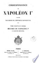 Correspondance de Napoléon Ier, 31