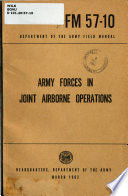 Army Forces in Joint Airborne Operations