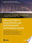 Advanced Studies in Energy Efficiency and Built Environment for Developing Countries