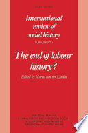 The End of Labour History