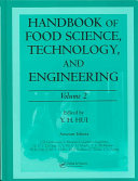 Handbook of Food Science, Technology, and Engineering