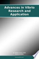 Advances In Vibrio Research And Application 2012 Edition