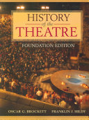History of the Theatre Book