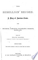 The Rebellion Record  June  63 Nov   63