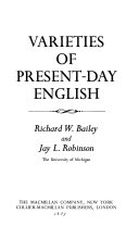 Varieties of Present-day English