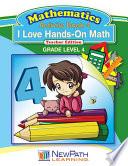 I Love HandsOn Math Workbook Book 4 Book