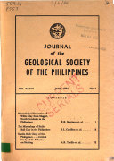 Journal of the Geological Society of the Philippines Pdf/ePub eBook