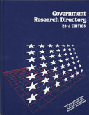 Government Research Directory Book PDF