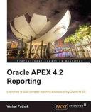 Oracle Apex 4.2 Reporting