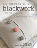 Beginner s Guide to Blackwork Embroidery