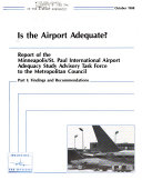 Is the Airport Adequate?: Findings and recommendations