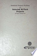 Detailed Project Profiles on Selected Hi Tech Projects  Project Reports