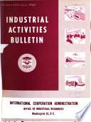 Industrial Activities Bulletin