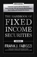 The Handbook of Fixed Income Securities, Ninth Edition [Pdf/ePub] eBook