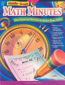 Math Minutes, Middle Grade, eBook