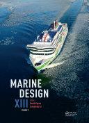 Marine Design XIII  Volume 2