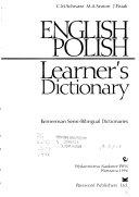 English Polish Learner s Dictionary