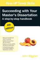 EBOOK  Succeeding with your Master s Dissertation  A Step by Step Handbook