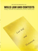 Wills Law and Contests
