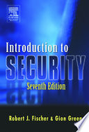 """Introduction to Security"" by Robert Fischer"
