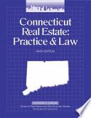 Connecticut Real Estate Practice   Law