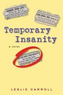 Temporary Insanity [Pdf/ePub] eBook
