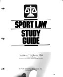 Sport Law Study Guide