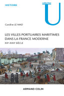 Pdf Les villes portuaires maritimes dans la France moderne Telecharger