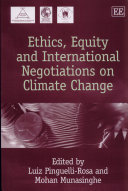 Ethics  Equity  and International Negotiations on Climate Change