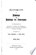 Zeitschrift für Psychologie und Physiologie der Sinnesorgane