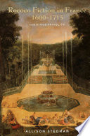 Rococo Fiction in France, 1600-1715 Pdf/ePub eBook