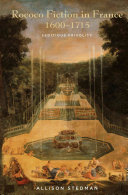 Rococo Fiction in France, 1600-1715