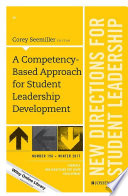 A Competency Based Approach for Student Leadership Development