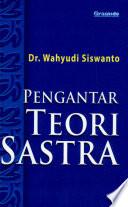 """Pengantar Teori Sastra"" by Wahyudi Siswanto"