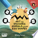 Art of Drawing Animals From Egg Shapes
