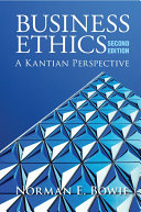 Business Ethics: A Kantian Perspective