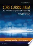 """Core Curriculum for Pain Management Nursing E-Book"" by ASPMN"