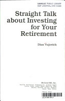 Straight Talk about Investing for Your Retirement